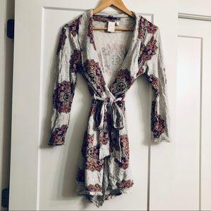 Anthropologie (Eloise) robe/cardigan
